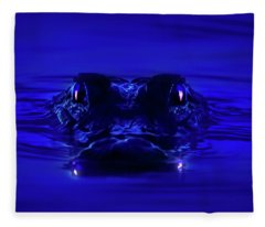 Night Watcher Fleece Blanket