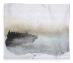 Lake Fleece Blankets