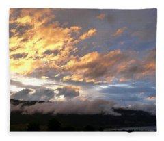 Nightfall Splendor 1 Fleece Blanket