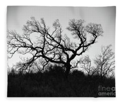 Nightmare Tree Fleece Blanket