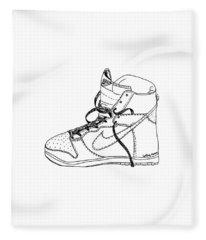 Nike Dunk 001 Fleece Blanket