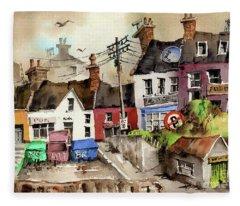 No Litter In Baltimore, Cork ...x117 Fleece Blanket