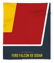 No011 My Mad Max Minimal Movie Car Poster Fleece Blanket
