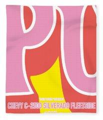 No013 My Kill Bill Minimal Movie Car Poster Fleece Blanket