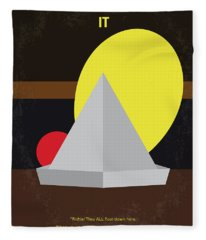 No043 My It Minimal Movie Poster Fleece Blanket