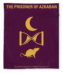 No101-3 My Hp - Prisoner Of Azkaban Minimal Movie Poster Fleece Blanket