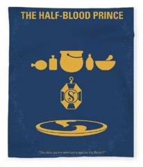 No101-6 My Hp - Half Blood Prince Movie Poster Fleece Blanket