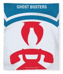No104 My Ghostbusters Minimal Movie Poster Fleece Blanket