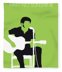 No156 My Bill Withers Minimal Music Poster Fleece Blanket
