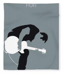 No197 My Nine Inch Nails Minimal Music Poster Fleece Blanket