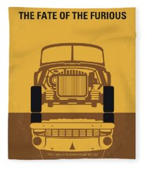 No207-8 My The Fate Of The Furious Minimal Movie Poster Fleece Blanket