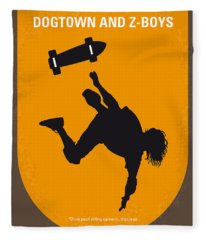 No450 My Dogtown And Z-boys Minimal Movie Poster Fleece Blanket