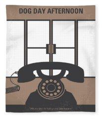 No479 My Dog Day Afternoon Minimal Movie Poster Fleece Blanket