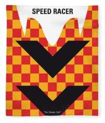 Racer Fleece Blankets
