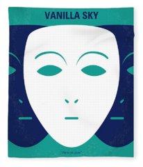 No571 My Vanilla Sky Minimal Movie Poster Fleece Blanket