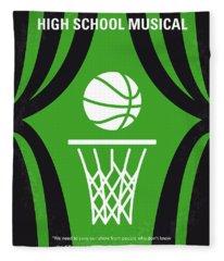 No633 My High School Musical Minimal Movie Poster Fleece Blanket