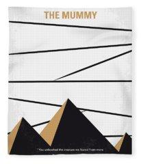 No642 My The Mummy Minimal Movie Poster Fleece Blanket