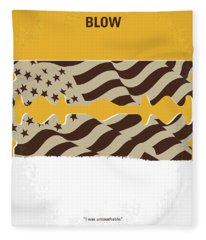 No693 My Blow Minimal Movie Poster Fleece Blanket