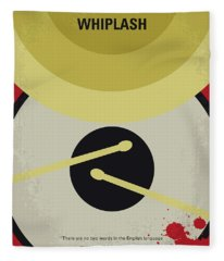 No761 My Whiplash Minimal Movie Poster Fleece Blanket