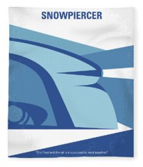No767 My Snowpiercer Minimal Movie Poster Fleece Blanket
