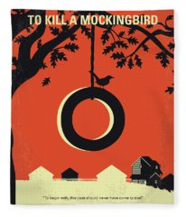 Mockingbird Fleece Blankets