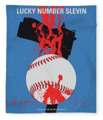 No880 My Lucky Number Slevin Minimal Movie Poster Fleece Blanket