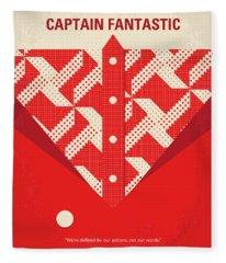 No913 My Captain Fantastic Minimal Movie Poster Fleece Blanket