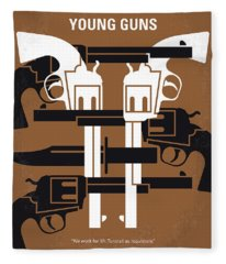 No916 My Young Guns Minimal Movie Poster Fleece Blanket
