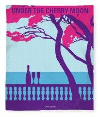 No933 My Under The Cherry Moon Minimal Movie Poster Fleece Blanket