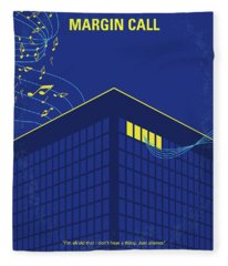 No950 My Margin Call Minimal Movie Poster Fleece Blanket