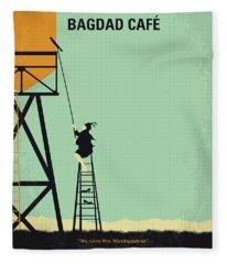 No964 My Bagdad Cafe Minimal Movie Poster Fleece Blanket