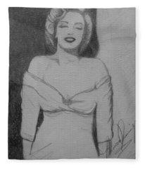 Norma Jean Fleece Blanket