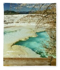 Norris Hot Spring Fleece Blanket