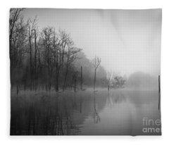 Norris Lake April 2015 3 Fleece Blanket
