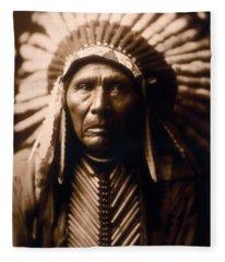 North American Indian Series 2 Fleece Blanket