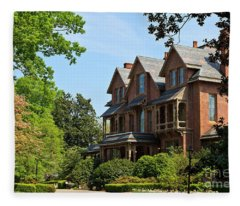 North Carolina Executive Mansion Fleece Blanket