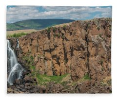 North Clear Creek Falls, Creede, Colorado 2 Fleece Blanket