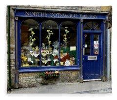 North Cotswold Bakery Fleece Blanket