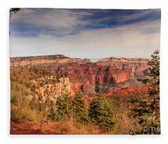 North Rim View Fleece Blanket
