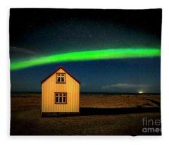 Northern Lights Of Iceland 1 Fleece Blanket