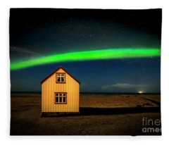 Northern Lights Of Iceland 1 Fleece Blanket