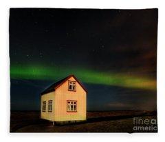 Northern Lights Of Iceland 2 Fleece Blanket