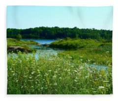 Northern Ontario 1 Fleece Blanket