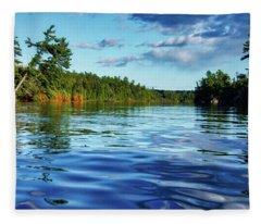 Northern Waters Fleece Blanket