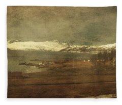 Norwegian Coast Fleece Blanket