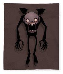 Nosferatu Fleece Blanket
