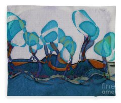 Not A Forest - Ab02c02 Fleece Blanket