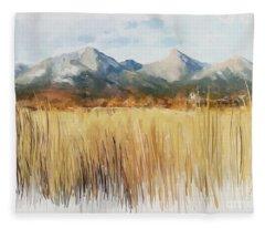Not Far Away Fleece Blanket