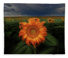 Not Just Another Face In The Crowd  Fleece Blanket