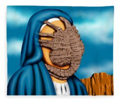 Not So Immaculate Conception Fleece Blanket